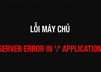 Những lỗi máy chủ thường gặp nhất hiện nay